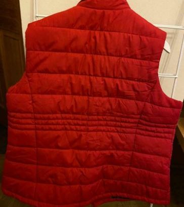 Country Rose ladies red Gilet XL