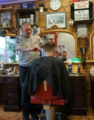barber shop for sale in Worcester