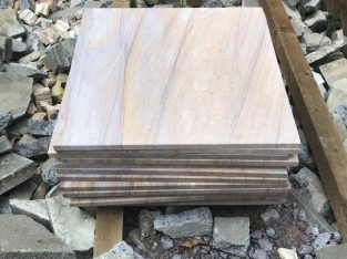 Rainbow Indian sandstone slabs £450 ono
