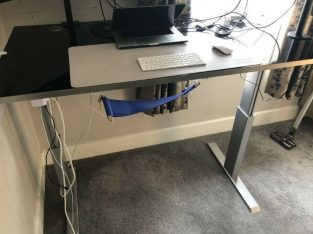 Work from Home! er-T-go Professional Height Adjustable Ergonomic Desk with Electrical Control