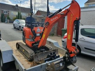Kubota U-10 3 Mint Conditioner 139 hrs