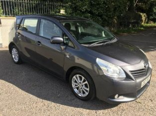 beautiful 2011 toyota verso 2.0 d4d 7 seats,full service history (ford volkswagen)