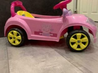 Small electric car – Peppa Pig