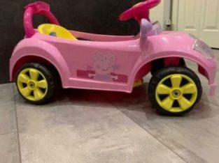 Small electric car – Peppa Pig