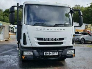 2014 Iveco 7.5 Ton dropside/Free Uk Delivery £10,900.00 Plus VAT