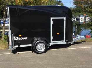 Debon Cargo 1300 Box Trailer with Full Ramp/ Barn Door £3,450 plus VAT