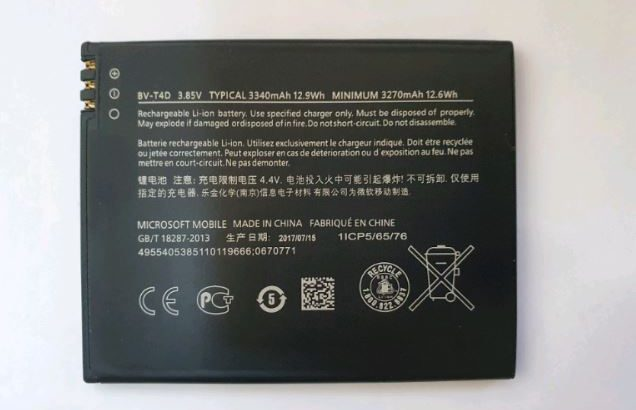 Microsoft BV-T4D 3340mAH Battery for Lumia 950 XL