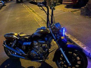 125cc My custom bobber Jack Daniels