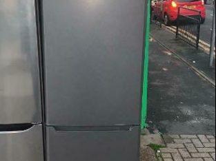Dark silver Samsung fridge freezer
