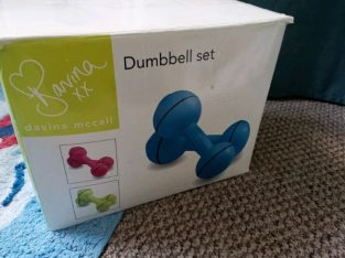 Davina Vinyl Dumbbell Set