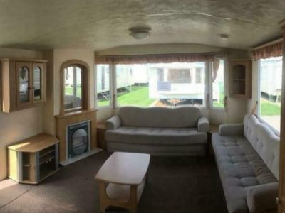 CHEAP SITED PRIVATE SALE STATIC CARAVAN (NORTH WALES / SITE FEES PAID)