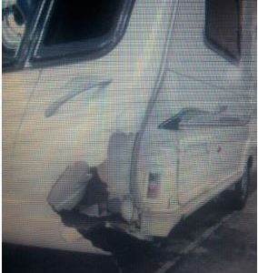 WANTED CRASHED DAMP DAMAGED CARAVAN