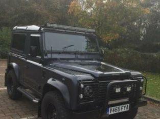 Land Rover Defender TD5, 1999, Grey