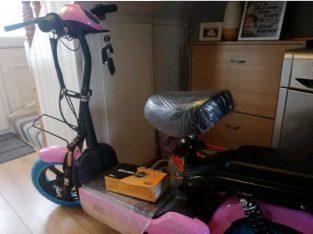 Pink E Bike