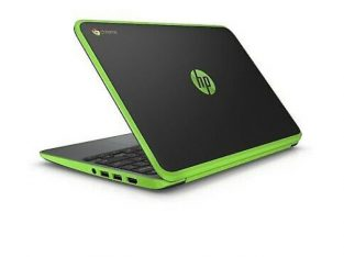 Green hp Chrombook 11 G5