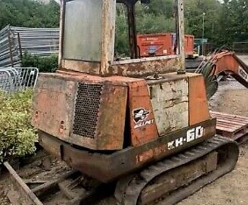 Kubota kh60 digger spares or repairs