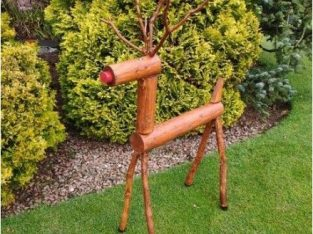 Reindeer Hand Crafted
