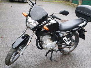 Jianshe JS125 motorcycle