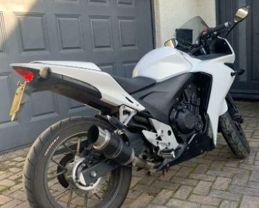 Honda CBR500R Low Mileage, Rare White & 12 months MOT