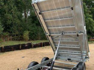 NO VAT Ifor Williams 12ft tipper trailer brand new