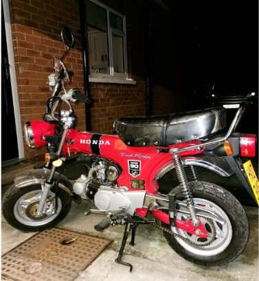 Honda Dax St 90 Monkey Bike replica (Brand new)