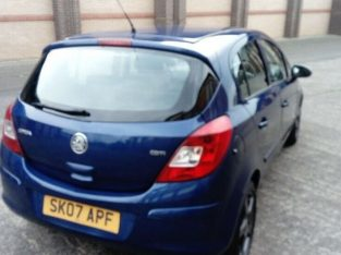 CHEAP CAR 12 MONTH MOT £550, VAUXHALL CORSA,CLUB 1300 CDTI DIESEL(2007)