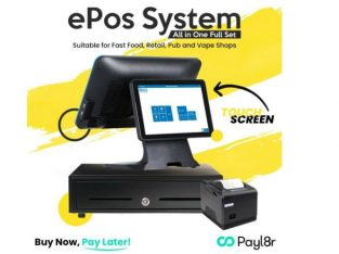 Cash Register Till,Delivery, Off-License, NEW pos- EPOS Takeaway, Touchscreen Epos system POS