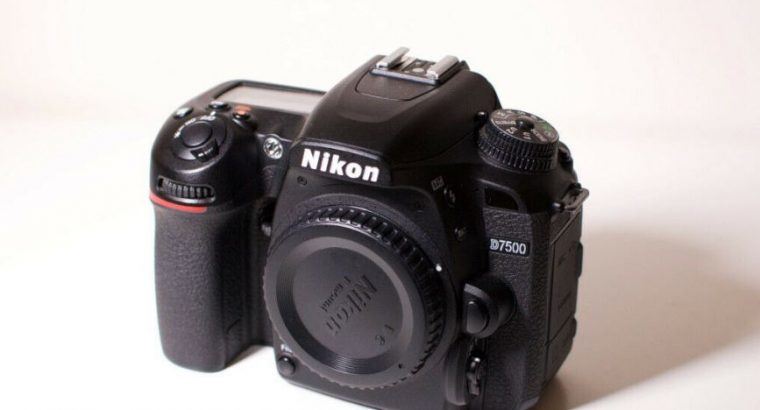 Excellent Condition for this Nikon D7500 Camera