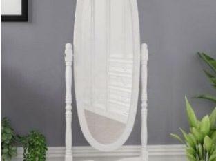 Brad New Nishano cheval mirror white