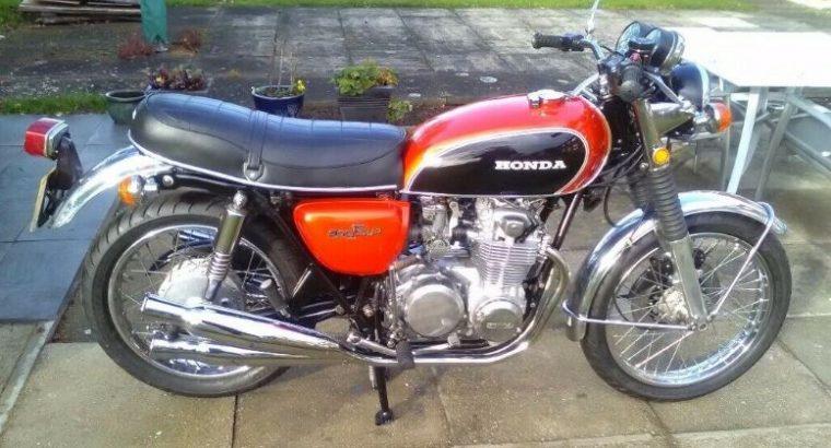 1975 super condition, Honda CB 500 for UK model not an import Bike