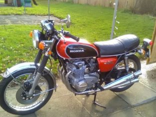 1975 super condition, Honda CB 500 for UK model not an import Bike