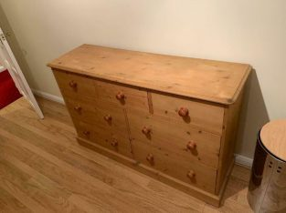 For Sale Pine chest of drawers