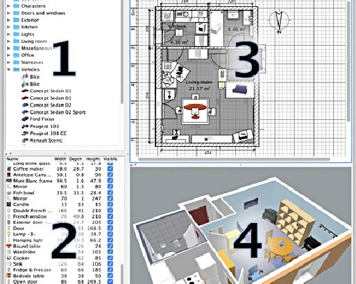 Professional Home Design Planner software Full Package 3D
