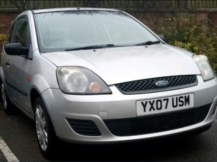 For sale 1.25 L – Year 2007 Ford Fiesta Style