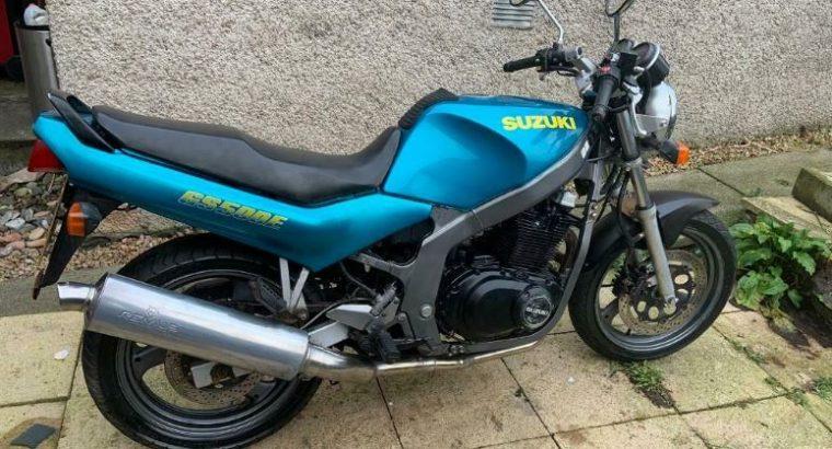 GS 500 E 1996 Suzuki Motor Bike for sale £750 ovno