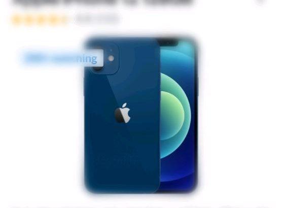 For sale Blue (b.n.i.b) Iphone 12 128gb