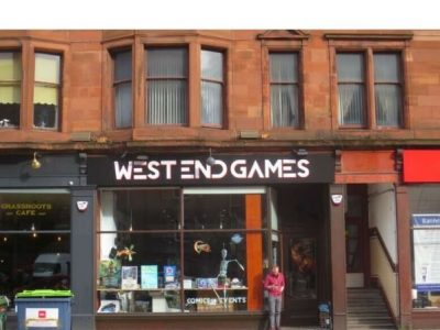Commercial Retail shop To Let in Glasgow West End NO-RATES